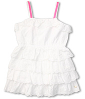 Juicy Couture Kids - Eyelet Ruffle Dress (Toddler/Little Kids/Big Kids)