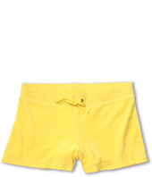 Juicy Couture Kids - Micro Terry Basics Classic Drawstring Short (Toddler/Little Kids/Big Kids)