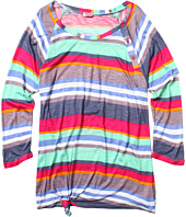 Splendid Littles - Pensacola Stripe 3/4 Sleeve Top (Big Kids)