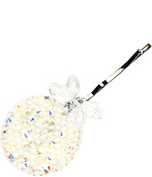 Jane Tran - Large Crystal Medallion Bobby Pin
