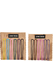Jane Tran - Thin Metallic Bobby Pin Set