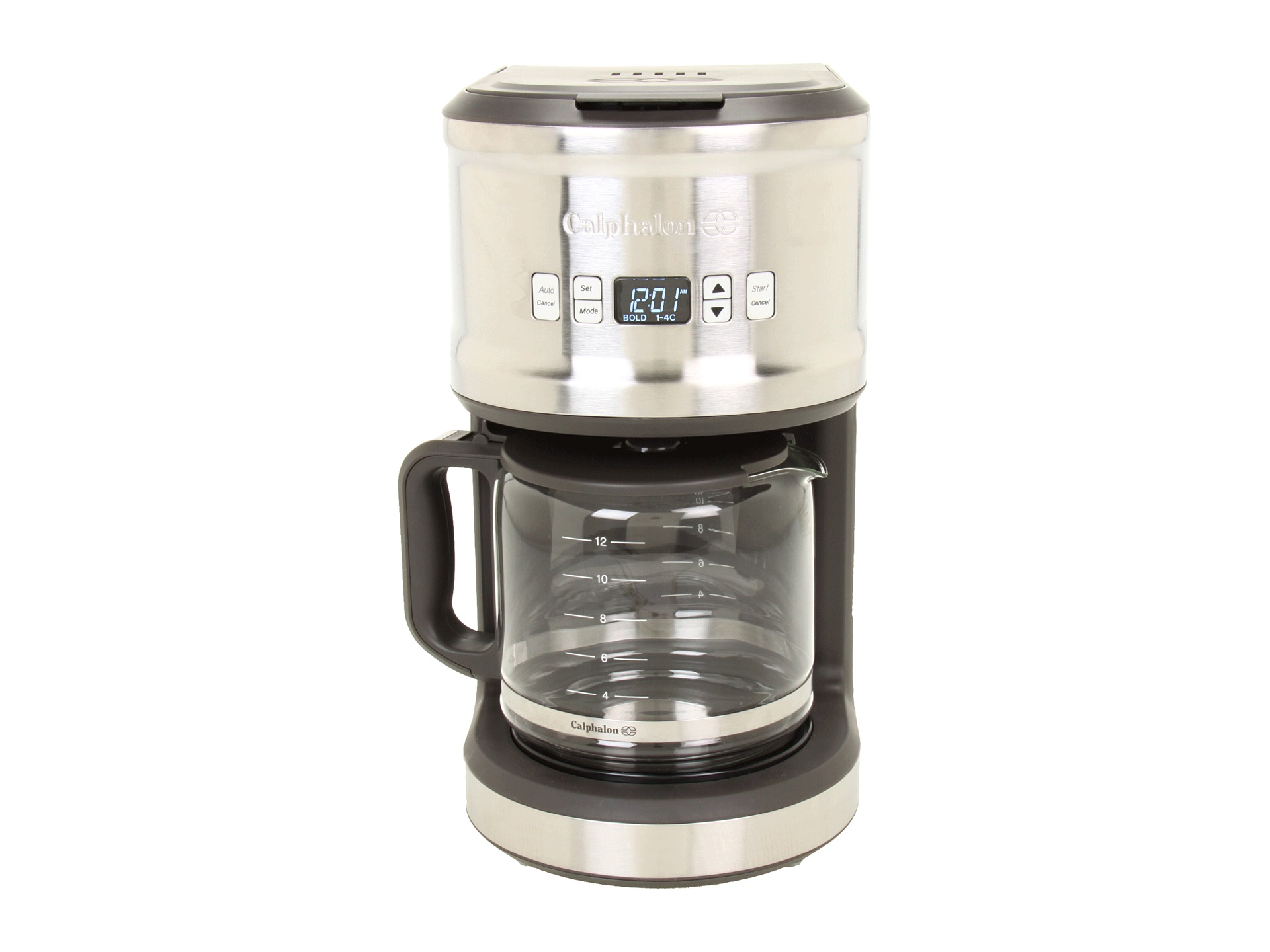 Calphalon Quick Brew Coffee Maker : Calphalon 1838803 Quick Brew 12 Cup Coffee Maker Shipped Free at Zappos