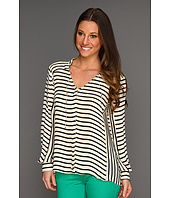 Parker - Long Sleeve Tie Top