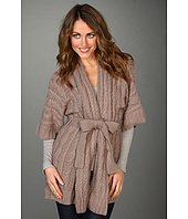 BCBGMAXAZRIA - Cabled Cardigan Sweater