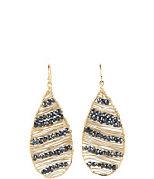 NUNU - 18K Gold Wire Teardrop