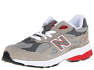 New Balance Kids KJ990V3 Little Kid Grey, Red Shoes