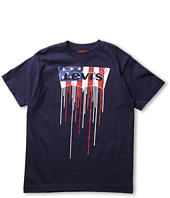Levi's® Kids - Boys' USA Drippin S/S Tee Shirt (Big Kids)