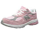 New Balance Kids KJ990V3 Big Kid Pink, Grey Shoes
