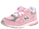 New Balance Kids KJ990V3 Infant, Toddler Pink, Grey Shoes