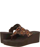 Roper - Jeweled Cutout Wedge Sandal