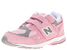 New Balance Kids KV990V3 Infant, Toddler Pink, Grey Shoes