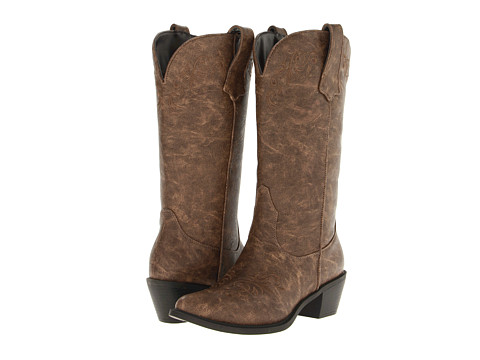 Roper Western Embroidered Fashion Boot - Tan
