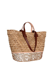 Juicy Couture - Straw & Sequin Beach Tote