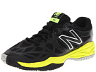 New Balance Kids KJ996 Little Kid, Big Kid Black, Green Shoes