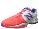 New Balance Kids KC996 Little Kid, Big Kid White, Pink Shoes
