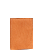 Jack Spade - Madras Printed Leather Vertical Flap Wallet