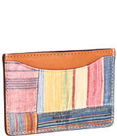 Jack Spade - Patchwork Printed Leather Credit Card Holder