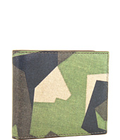 Jack Spade - Swedish M90 Camo Printed Leather Bill Holder