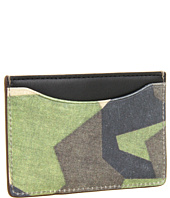 Jack Spade - Swedish M90 Camo Printed Leather Credit Card Holder