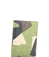 Jack Spade - Swedish M90 Camo Printed Leather Vertical Flap Wallet