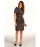 Jessica Simpson - Cowl Neck Animal Dress