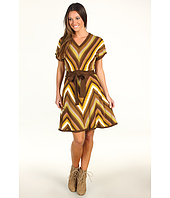 Jessica Simpson - Dolman Sleeve Dress w/Chevron Skirt