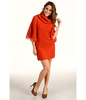 Jessica Simpson - Turtleneck Poncho Sweater Dress