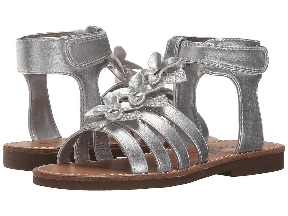 Rachel Kids Charleston Toddler/Little Kid Silver Metallic Girls Shoes