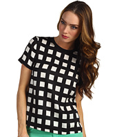 Kate Spade New York - Checkered Myrna Top