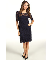 Karen Kane - Scallop Hem Lace Dress