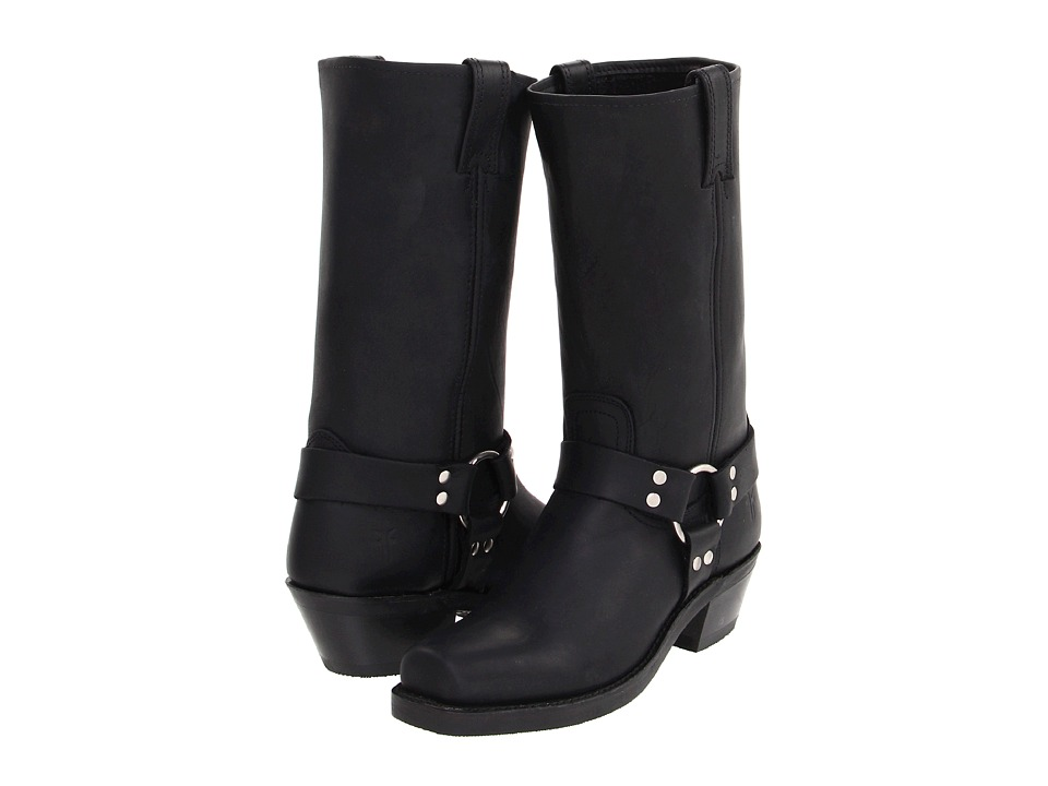 Frye Harness 12R (Black) Women's Pull-on Boots