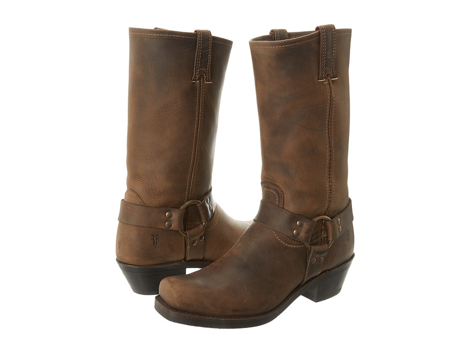 Frye Harness 12R (Tan) Women's Pull-on Boots