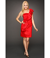 Jessica Simpson - Ruffle Shoulder Taffeta Dress