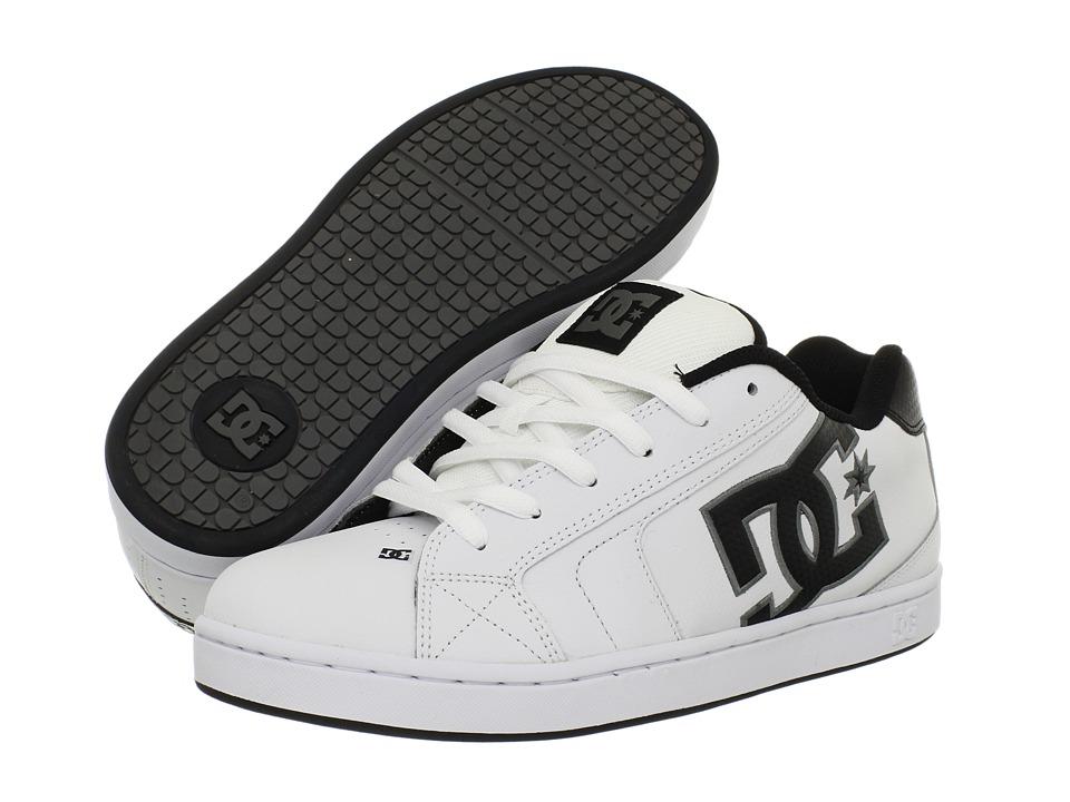 DC - Net (White/Battleship/White) Mens Skate Shoes