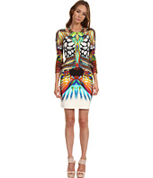 Just Cavalli - Coral Reef Print L/S Jersey Dress