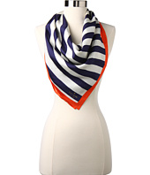 Kate Spade New York - March Colorblock Brush Stripe Silk Scarf