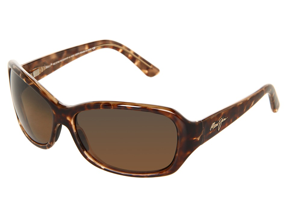 Maui Jim Pearl City Tortoise/HCL Bronze Sport Sunglasses
