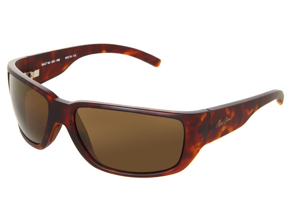 Maui Jim Seawall Matte Tortoise/HCL Bronze Sport Sunglasses