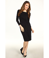 Karen Kane - 3/4 Sleeve Shirred Dress