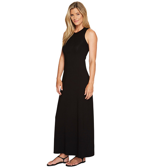 Karen Kane - High Neck Maxi Dress (Black) - Apparel