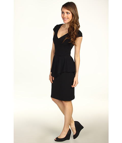 Karen Kane - Alana Travel Dress (Black) - Apparel