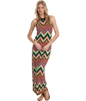 Karen Kane - Digital Zig Zag Halter Maxi Dress