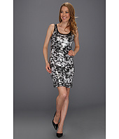 Karen Kane - Silver Painted Sequin Tank Dress