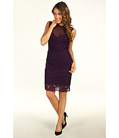 Nicole Miller - Sleeveless Stretch Lace Dress