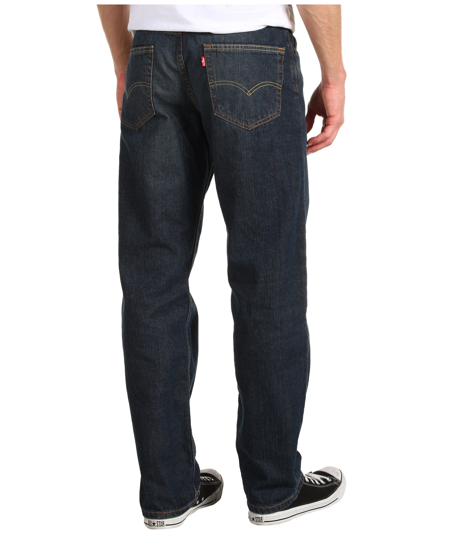 Different styles of men's jeans Whether for their durability or their casual style, the right cut plays a key role in your comfort. Some common styles include loose fit, straight cut, and skinny fit.