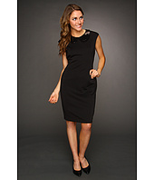 Calvin Klein - Sheath Dress with Sequined Collar