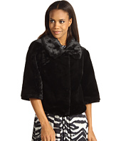 Calvin Klein - Black Faux Fur Jacket