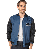 Lacoste - L!VE Taffeta Bomber Jacket w/ Applique Croc