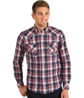 Ben Sherman - Laundered Ombre Western Check Shirt