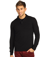 Ben Sherman - Fine Gauge Shawl Collar Sweater